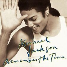 MICHAEL JACKSON -REMEMBER THE TIME - CD/DVD Single /DUAL DISC LIMITED EDITION