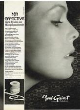 PUBLICITE ADVERTISING    1979   RENE GUINOT  ligne des yeux