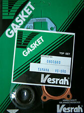 VESRAH TOP END Gasket set kit Yamaha RD50 DT50 TY50 GT50 LB50 1975-83 VG-660