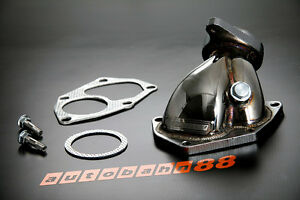 Fit Mitsubishi Lancer Evolution Evo 7 8 9 Stainless Steel Dump Turbo Outlet Pipe
