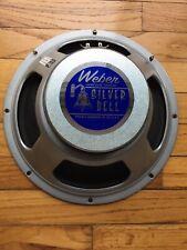 Weber Silver Bell Ceramic Guitar Speaker 8 Ohm 75W