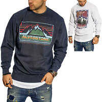 Jack & Jones Herren Sweatshirt Pullover mit Print Herrenpullover Sweatpullover