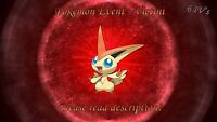 Victini Event 6IV - Pokemon X/Y OR/AS S/M US/UM Sword/Shield