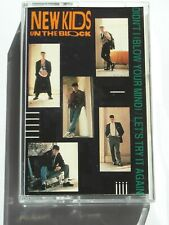 New Kids On The Block - Let's Try It Again - 2 Track Cassette - Used Good
