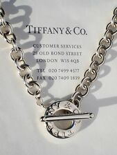 Tiffany & Co Toggle Sterling Silver Necklace