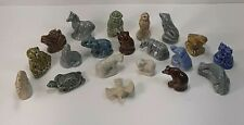 Lot Of 20 Mixed Wade England, Red Rose Tea, Vintage Miniature Animal Figurines