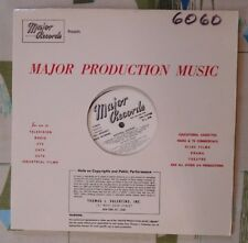 Major Library Music LP #6060 National Anthems Cyril Watters George Kleinsinger