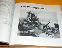 Blueprint of Japanese battleship Yamato book from japan rare #0183