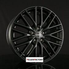 4x BORBET BS5 Felgen Black Glossy 8x18 Zoll ET35 5x112 Audi VW Seat Skoda Merced
