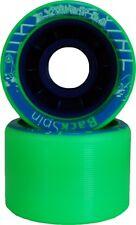 Vanilla Backspin Scribble Green Skate Wheels - 62mm X 42mm 92A - Set of 8