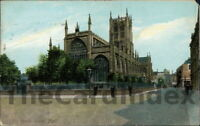 KINGSTON UPON HULL Holy Trinity / Hull Minster Postcard YORKSHIRE Wrench Series