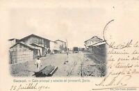 equateur.n°59701.guayaquil.calle principal y estacion del ferocarril.duran