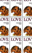 1986 - Love (Puppy) - #2202 Full Mint -Mnh- Sheet of 50 Postage Stamps
