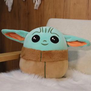 Disney Star Wars 13CM Baby Yoda Plush Pillow Stuffed  Dolls Toys Christmas Gift