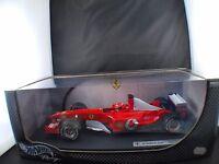 Mattel Hot Wheels M Schumacher F 2003 GA Ferrari #1 1/18 neuf boîte/ Boxed MIB