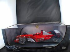 Mattel Hot Wheels M Schumacher F 2003 GA Ferrari #1 1/18 neuf boîte/ Boxed MIB