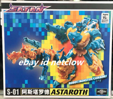 Transformers TFC toy S-01 Satan Astaroth in Stock