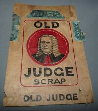 Old Judge Tobacco Package Fronts 3 Paper New Jersey Scrap Tobacco Antique
