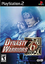 Dynasty Warriors 6 PS2 New Playstation 2
