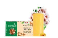 Biotique Bio Almond Oil Nourishing Body Soap Pure Fruit & Vegetable Extract 75gm