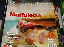 LOUISIANA Kitchen & Culture magazine sept/oct 2013  47 recipes , MUFFULETTA  F2