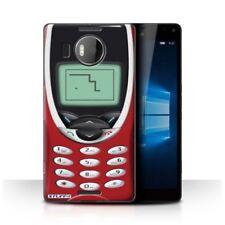 Housses et coques anti-chocs rouges Pour Microsoft Lumia 950 pour téléphone mobile et assistant personnel (PDA)
