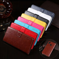 For Ulefone X, Classic Flip Leather Stand Wallet Card Slots Soft Skin Cover Case