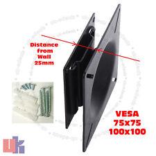 Slim Flat LED TV Wall Mount Bracket VESA 75 100 - 10 to 29 inch TAHA011