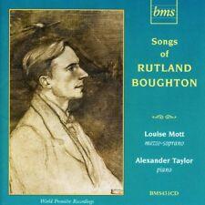 Louise Mott (mezzo-soprano) - Rutland Boughton, Songs [CD]