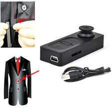 HD Mini DVR Button Pinhole Spy Camera Hidden Video Recorder DV Camcorder Vogue
