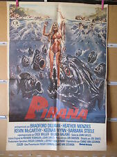 A375         PIRAÑA JOE DANTE BRADFORD DILLMAN HEATHER MENZIES BARBARA STEELE