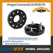 "2PC 25mm (1"") Hubcentric Wheel Spacers 5x114.3 66.1 12x1.25 Fit For Infiniti G35"