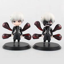 2Pcs Tokyo Ghoul Kaneki Ken 10cm PVC Action Figure Collectable Model Toy Gift