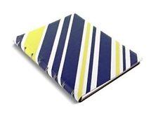 Filofax A5115050Notepad, Patterns, Stripes, Blue, Yellow, Organiser, Ruler