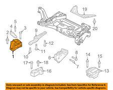 AUDI OEM 08-09 TT Quattro-Engine Motor Mount Torque Strut 8J0199262A