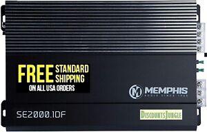 MEMPHIS SE2000.1DF AMP MONOBLOCK 2000W SUBWOOFERS SPEAKERS BASS AMPLIFIER NEW