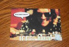 Matthew Sweet 100% Fun Postcard Promo 6x4