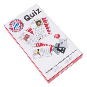 FC Bayern München Quiz weiß 314 Fragen & Antwort Spiel FCB