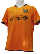 NEUF Vintage Nike Barcelona MAILLOT DE FOOTBALL UNICEF extérieur orange XL