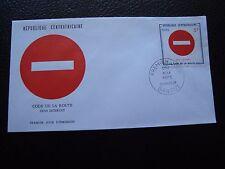 REPUBLIQUE CENTRAFRICAINE - enveloppe 1er jour 20/3/1975 (B4)