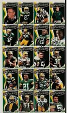 1998 Green Bay Packers Signed Uncut Sheet Police Set (10 Signatures) PSA