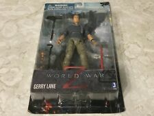 "Jazwares World War Z Gerry Lane 6"" Action Figure w/3 Weapons Brad Pitt"