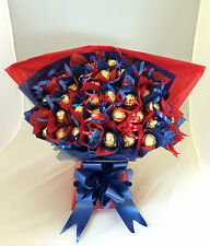 FERRERO ROCHER CHOCOLATE BOUQUET SWEET TREE 34 ITEMS HAND MADE UNIQUE GIFT