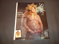 Beyonce 2017 Grammy Award ad article with her costume during her performance