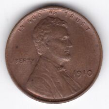 More details for 1910 u.s.a. lincoln wheat cent | pennies2pounds