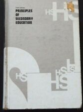 Principles Of Secondary Education By Rudyard K. Bent 5th Edition @ 1966