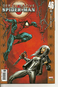 °DER ULTIMATIVE SPIDER-MAN #46 SILVER SABLE° Panini DE 2006