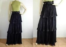 Polyester Dry-clean Only Solid Skirts for Women