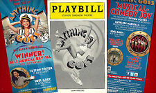 """Sutton Foster """"ANYTHING GOES"""" Joel Grey / Cole Porter 2011 Playbill / Flyer"""