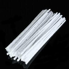 50pcs Smoking Pipe Cleaners Intensive Cotton Tobacco Smoke Cleaning ToolRods US